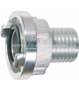 STORZ SUCTION COUPLING 25-D / Ø19 NOZZLE TOOTHED
