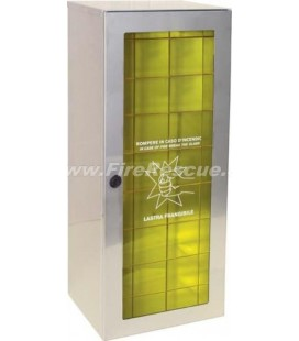 FIRE EXTINGUISHER EASY CABINET 9-12 KG/L WITH KEY